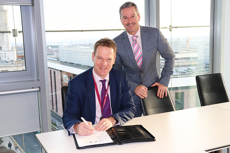 Signing of the Superfast South Yorkshire Phase 2 contract