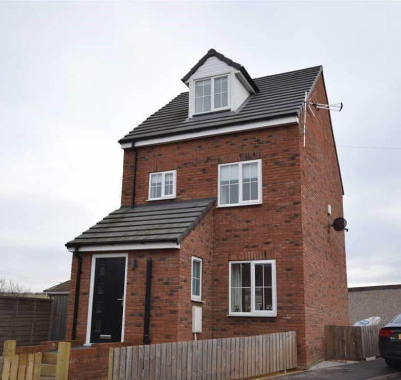 A new build, three-level house in Conisbrough, South Yorkshire
